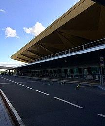 Pulkovo Airport-Statistics-Pulkovo new terminal exterior