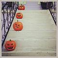 Pumpkins on the steps in New Orleans.jpg
