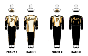Purdue All-American Marching Band - Image: Purdue Marching Band Uniform
