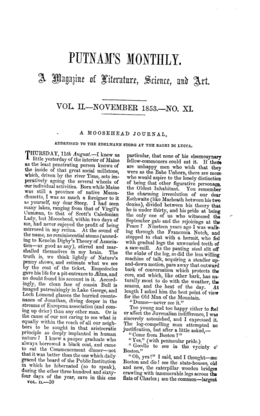 Putnam's Monthly- vol 2, November 1853, no. XI.png