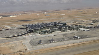 Queen Alia International Airport - The new terminal building