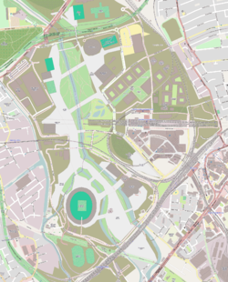 Map of the Queen Elizabeth Olympic Park
