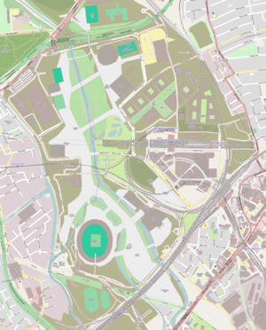 Legacy of the 2012 Summer Olympics - Map of the current layout of the Olympic Park