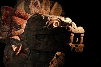 Pre-Columbian art - Image: Quetzalcoatl Teotihuacan