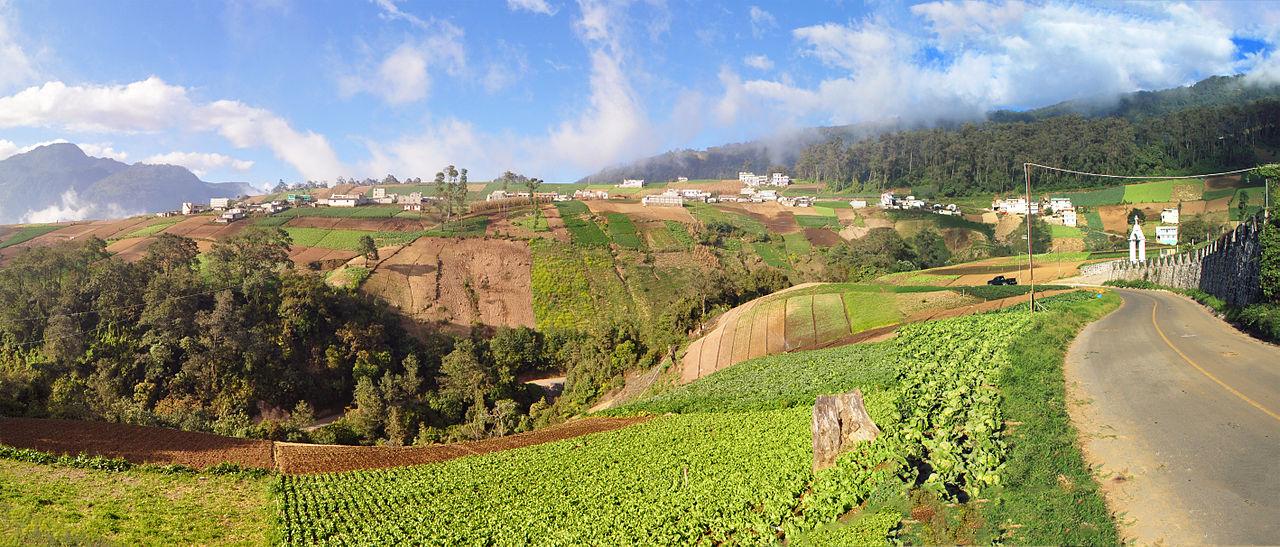 Dataran tinggi Quetzaltenango.