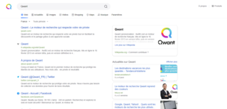 Qwant Search engine
