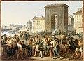 Révolution de 1830 - Combat de la Porte Saint-Denis - 28.07.1830.jpg