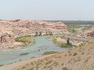 river in the Argentine province of San Juan