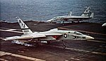 RA-5C of RVAH-6 landing on USS America (CVA-66) c1972.jpg