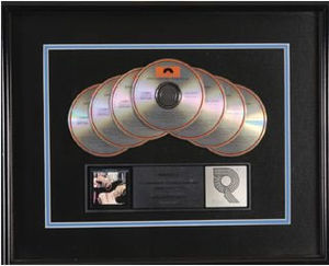 Timepieces: The Best of Eric Clapton - A 7-times Platinum RIAA certification for the album.