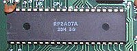 Versions of the NES console released in PAL regions incorporated a Ricoh 2A07 CPU.