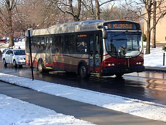 Optima Bus Corporation - An Opus run by the Red Rose Transit Authority.