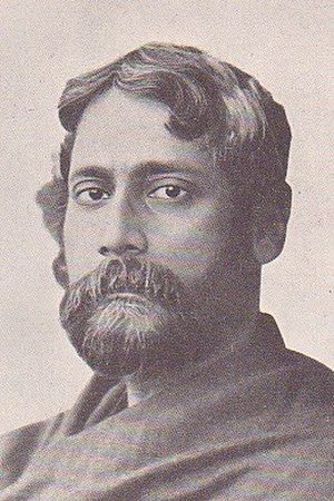 Ekla Chalo Re - Image: Rabindranath Tagore 1905 1906 Sukumar Ray