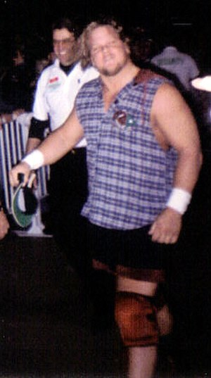 """Louie Spicolli - Spicolli as """"Rad Radford"""" in 1995"""