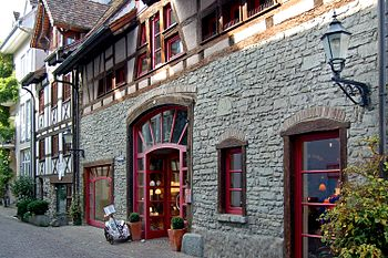 Buildings in the old town of Radolfzell