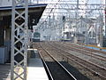 Railway platform from Keihan Sembayashi and Morishoji in Takii IMG 0941 20130203.JPG