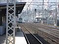 Railway platform from Keihan Sembayashi and Morishoji in Takii IMG 0941 20130203.JPG