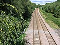 Railway track north of Morton - geograph.org.uk - 234782.jpg
