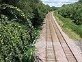 Railway track north of Morton - geograph.org.uk - 234782.jpg
