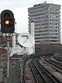 Railway tracks, running north from Shepherd's Bush Market Underground Station - geograph.org.uk - 1561713.jpg
