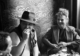 Hanna Schygulla - With Rainer Werner Fassbinder in 1980