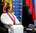 Rajapaksa alone.jpg