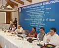 Rajnath Singh chairing the 21st meeting of the Western Zonal Council, at Panaji, Goa. The Chief Minister of Goa, Shri Laxmikant Parsekar, the Chief Minister of Gujarat.jpg