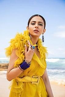 Rakul Preet Singh Indian actress and model