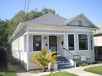 Ralph Bunche - Bunche's childhood home with his grandmother in South Los Angeles.