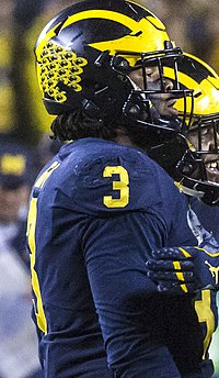 rashan gary michigan jersey