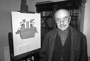 Raymond Savignac - Raymond Savignac at home