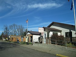 Readstown Municipal Building and post office