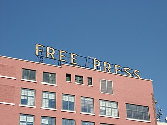 Winnipeg Free Press - Newspaper headquarters
