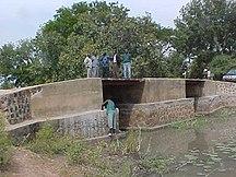 Chad-Transport-Rebuilt bridge on Bragoto River