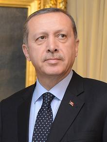 Recep Tayyip Erdoğan en 2012.