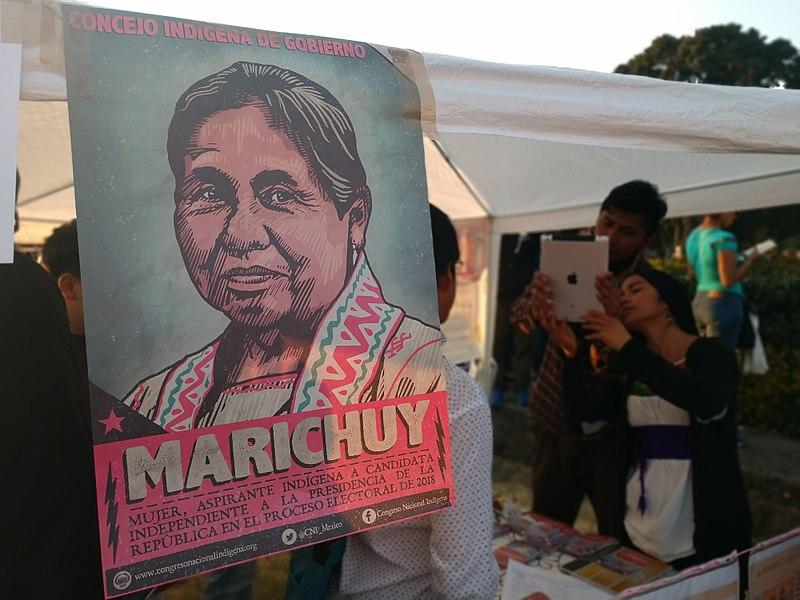 File:Recepción de Marichuy Patricio en Ciudad Universitaria UNAM 08.jpg
