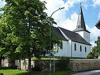 Reetz, Oberdorf 1, kath. Pfarrkirche 1, v. SO.jpg