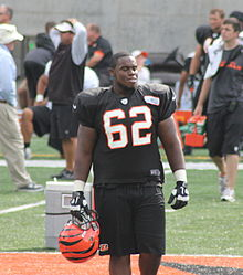 Description de l'image  Reggie Stephens 2012 Bengals training camp.jpg.