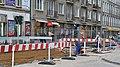 Remont torowiska na Nowowiejskiej Warszawa.jpg