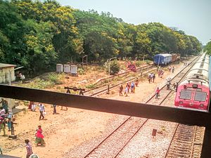 Repalle - Repalle railway station overview