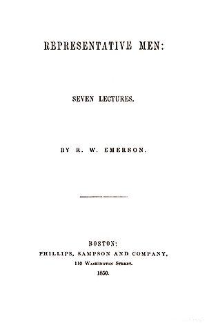 Representative Men - Representative Men (1850)