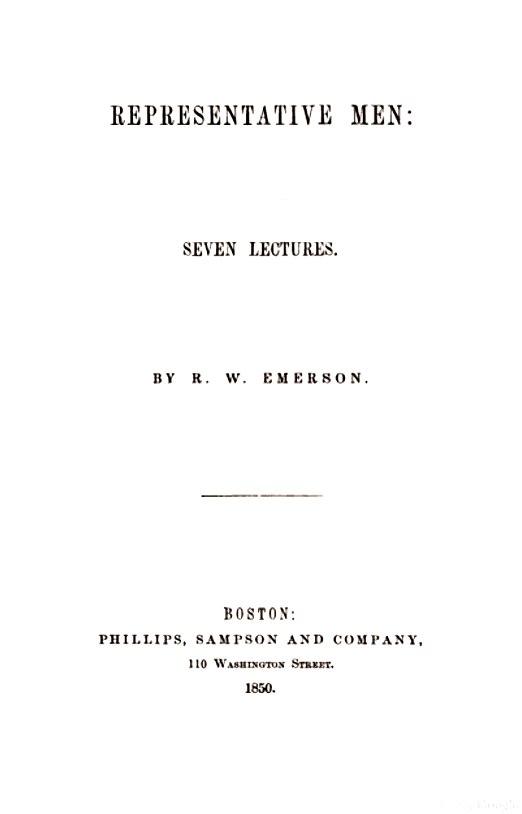 Representative Men 1850
