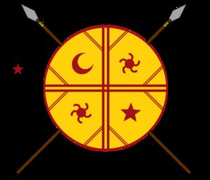 Resistencia Ancestral Mapuche - Image: Resistencia Ancestral Mapuche emblem