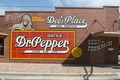 "Restored former ""ghost sign"" of a Dr. Pepper ad on the side of Dee's Place soda fountain and diner in Corsicana, Texas LCCN2014633024.tif"