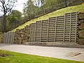 Retaining wall, Ramsden Wood Road - geograph.org.uk - 1268429.jpg