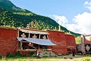 Reting Monastery - Image: Reting monastery 10
