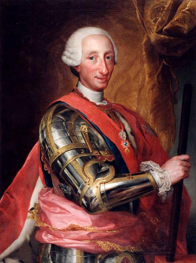 Retrato de Carlos III de España