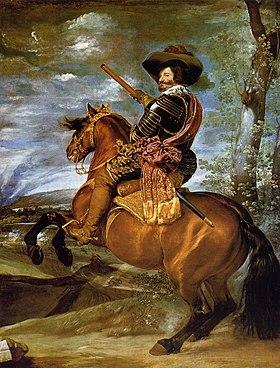 Conde Duque a caballo