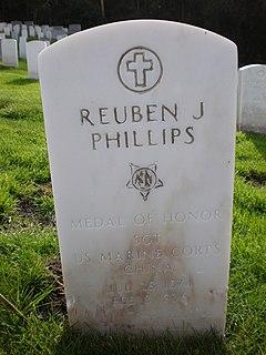 Reuben Jasper Phillips United States Marine Corps Medal of Honor recipient