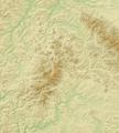 Rhön (Relief) - Deutsche Mittelgebirge, Serie A-de.png